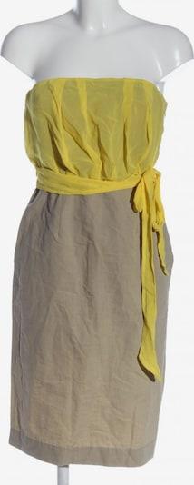 Red Valentino schulterfreies Kleid in S in braun / pastellgelb, Produktansicht