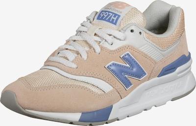 new balance Zapatillas deportivas bajas en azul ahumado / rosa pastel / blanco, Vista del producto
