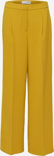 SELECTED FEMME Bügelfaltenhose in gelb, Produktansicht