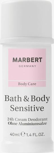 Marbert Sensitive Deodorant Cream in weiß, Produktansicht
