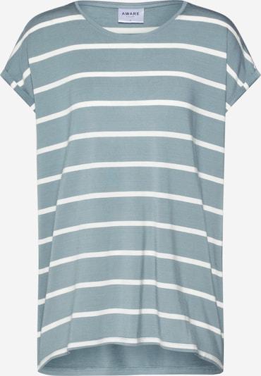 VERO MODA T-Krekls pieejami zaļš / balts, Preces skats
