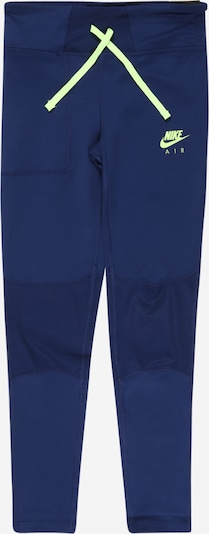 Nike Sportswear Pantalon en bleu / kiwi, Vue avec produit