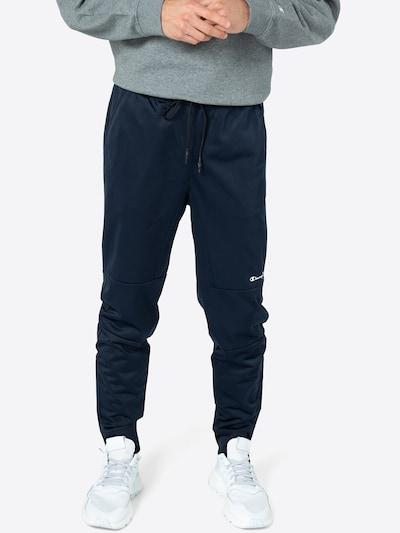 Champion Authentic Athletic Apparel Kalhoty - námořnická modř / bílá, Model/ka