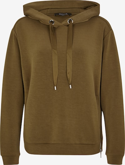 COMMA Sweatshirt in khaki, Produktansicht