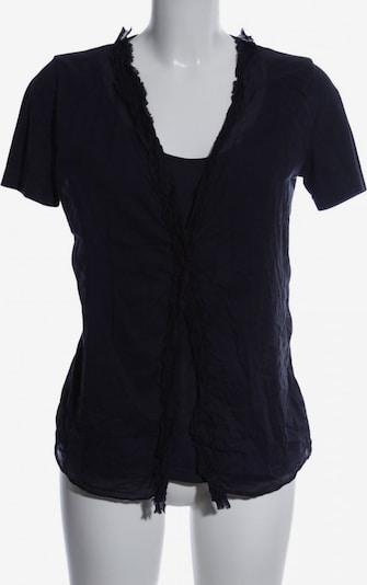European Culture Kurzarm-Bluse in S in blau, Produktansicht