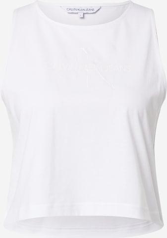 Calvin Klein Jeans Top in Weiß