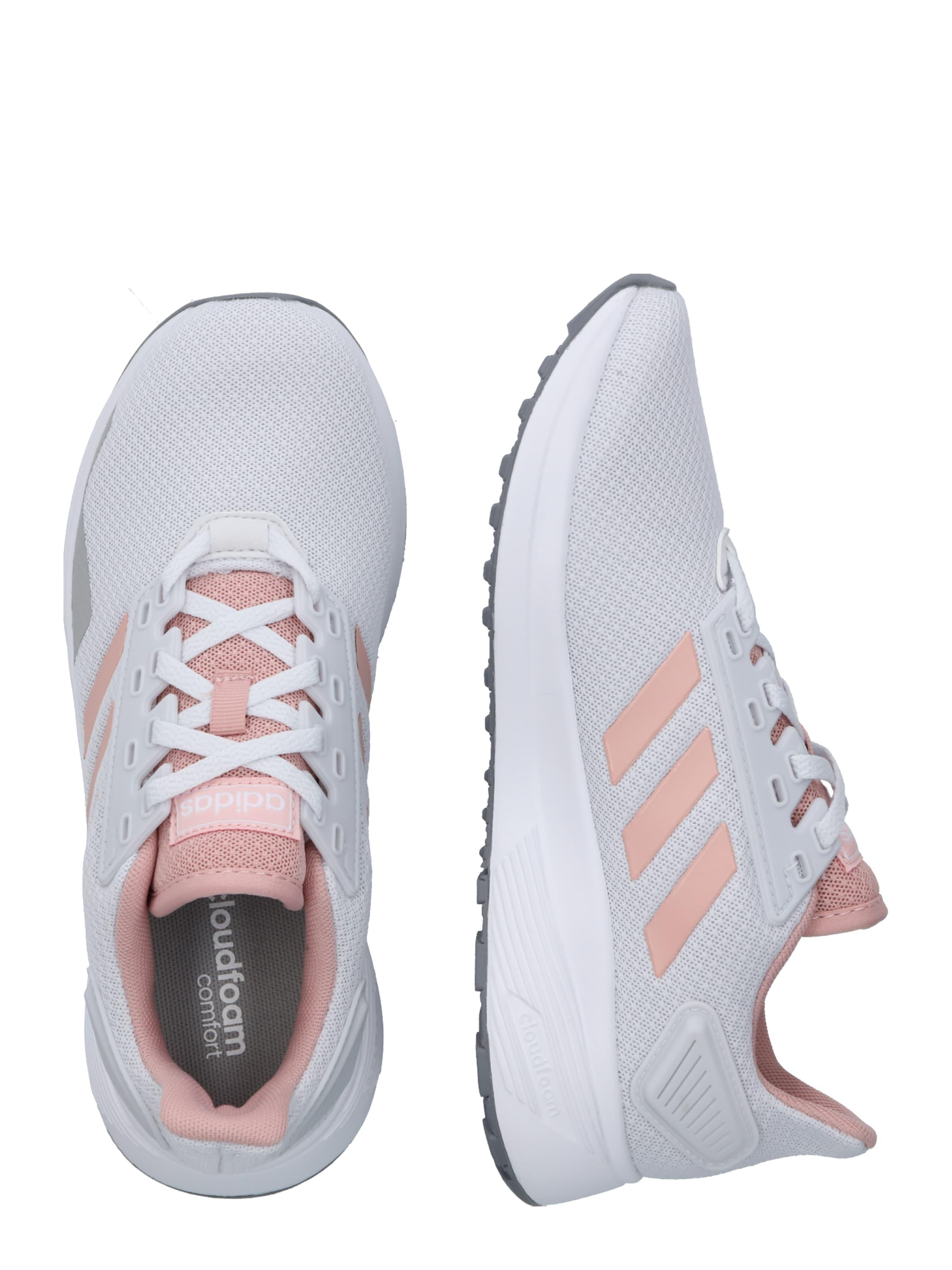 ADIDAS PERFORMANCE Futócipők 'Duramo 9' szürke / fáradt rózsaszín / fehér melír színben