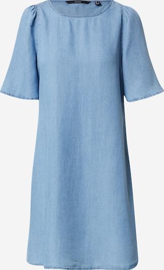 VERO MODA Šaty 'VIVIANA' - modrá: Pohľad spredu