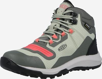 KEEN Boots 'TEMPO' in de kleur Lichtgrijs / Donkergrijs / Zalm roze, Productweergave