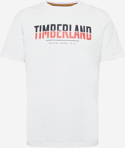 TIMBERLAND T-Krekls kamuflāžas / sarkans / balts, Preces skats