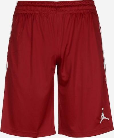 Jordan Sportbroek 'Alpha' in de kleur Rood / Wit, Productweergave