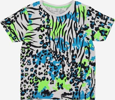 NAME IT T-Shirt in ultramarinblau / hellblau / hellgrün / weiß, Produktansicht