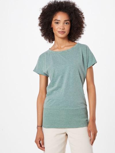 Fli Papigu Тениска 'Schnitzel' в зелен меланж: Изглед отпред