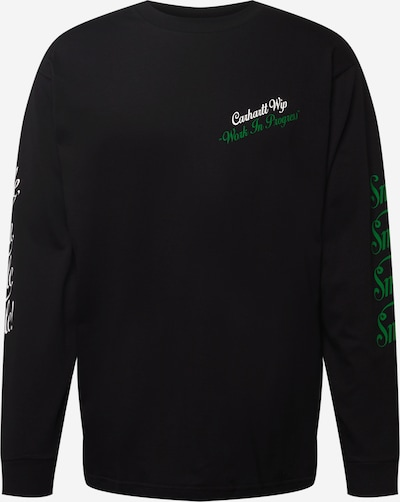 Tricou 'Smile' Carhartt WIP pe gri / verde / negru / alb, Vizualizare produs