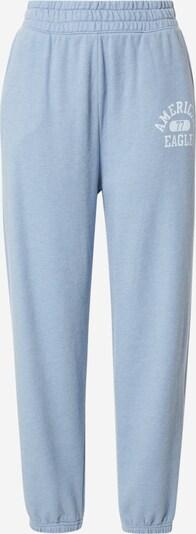 American Eagle Pantalón en azul claro / blanco, Vista del producto