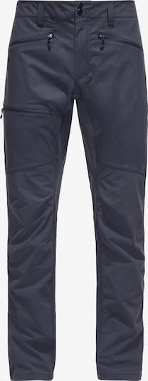 Haglöfs Outdoorbroek 'Lite Flex' in de kleur Navy, Productweergave
