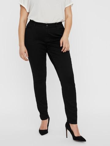 Vero Moda Curve Jeans 'SHAPEUP VI506 NOOS' in Schwarz