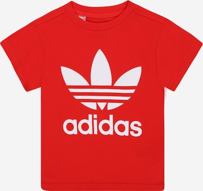 ADIDAS ORIGINALS Тениска в червено / бяло, Преглед на продукта