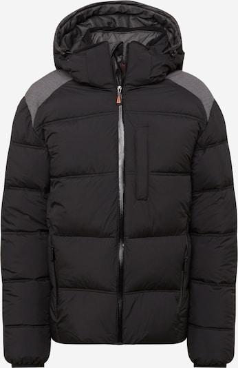 ICEPEAK Jacke 'BRISTOL' in graumeliert / schwarz, Produktansicht
