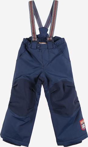 Pantalon fonctionnel 'ROMPPA PLUS' FINKID en bleu