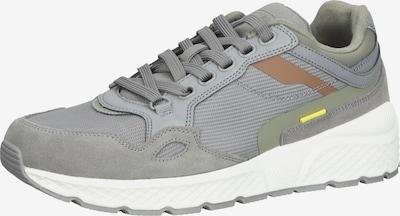CAMEL ACTIVE Sneaker in braun / gelb / grau, Produktansicht