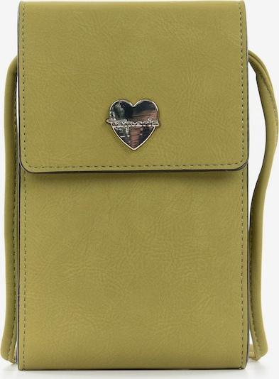 TAMARIS Protection pour smartphone 'Daphne' en vert, Vue avec produit