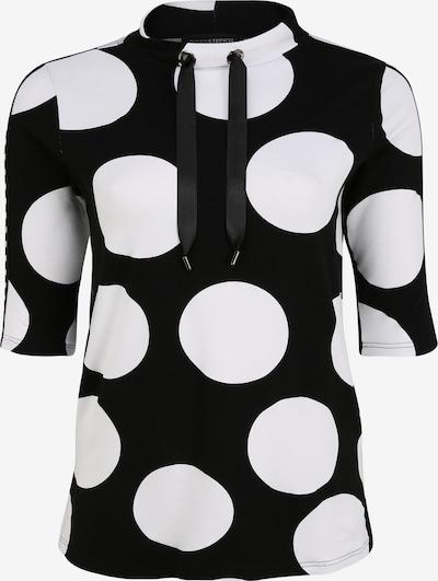 Doris Streich Shirt in de kleur Zwart / Wit, Productweergave