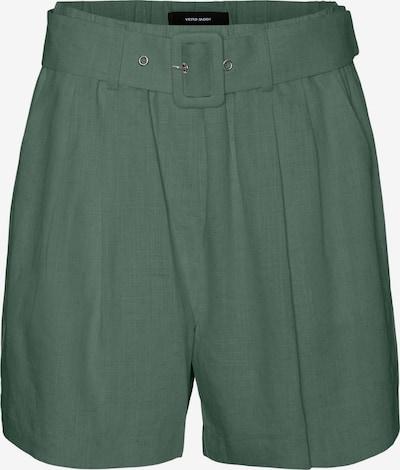 Klostuotos kelnės 'Amelia' iš VERO MODA, spalva – tamsiai žalia, Prekių apžvalga