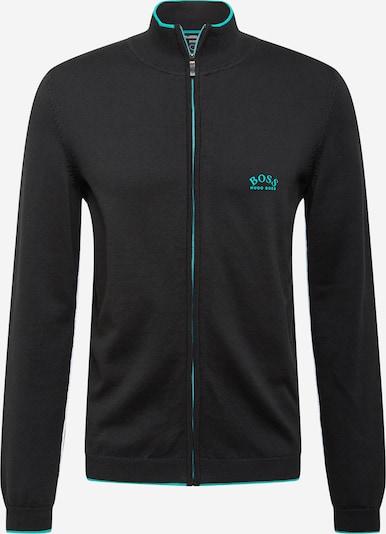 BOSS ATHLEISURE Vestes en maille 'Zoston' en noir, Vue avec produit