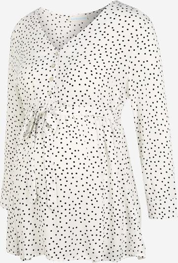 JoJo Maman Bébé Bluse in elfenbein / schwarz, Produktansicht