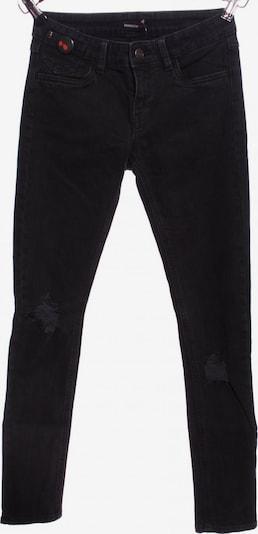 ROCKGEWITTER Slim Jeans in 28 in schwarz, Produktansicht