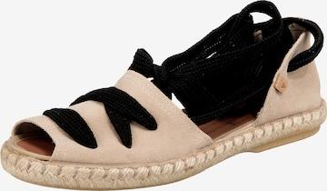 VERBENAS Sandale in Beige