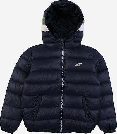 4F Outdoor jacket in navy / olive / white, Item view