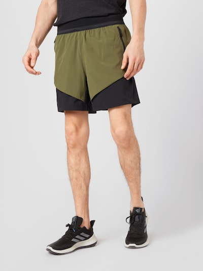 ADIDAS PERFORMANCE Športové nohavice - kaki / olivová, Model/-ka