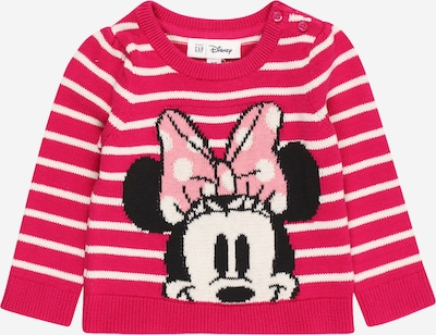 GAP Pullover en pink / rosa / schwarz / weiß, Vue avec produit