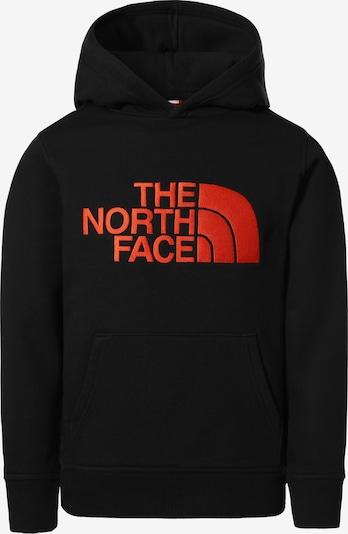 THE NORTH FACE Sweatshirt in rot / schwarz, Produktansicht