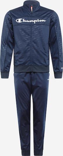Champion Authentic Athletic Apparel Sportanzug in navy / weiß, Produktansicht