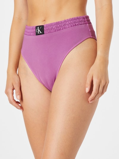 Calvin Klein Swimwear Bikinihose in fuchsia, Modelansicht