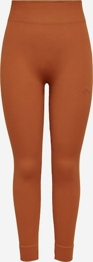 ONLY PLAY Leggings in dunkelorange / orangemeliert, Produktansicht