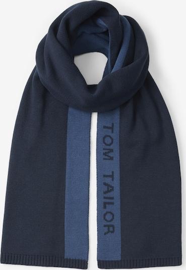 TOM TAILOR Sjaal in de kleur Lichtblauw / Donkerblauw: Vooraanzicht