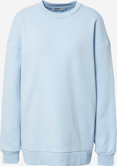 NA-KD Sweatshirt 'Pelican Bay' in rauchblau, Produktansicht