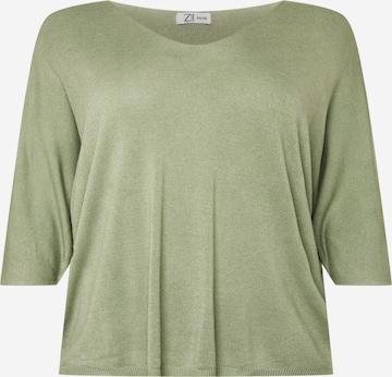 Z-One Πουλόβερ 'Juliet' σε πράσινο