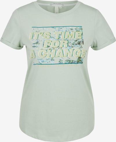 Q/S designed by T-shirt en menthe, Vue avec produit