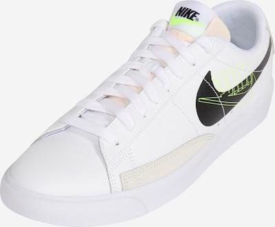 Nike Sportswear Trampki niskie 'Blazer' w kolorze neonowo-żółty / pudrowy / czarny / białym, Podgląd produktu