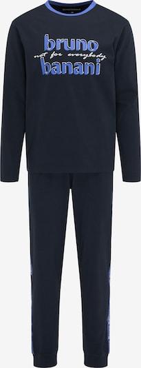 BRUNO BANANI Pyjama in blau, Produktansicht