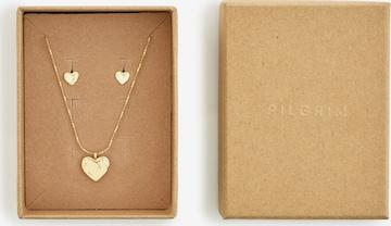 Pilgrim Σετ κοσμημάτων 'Augusta' σε χρυσό