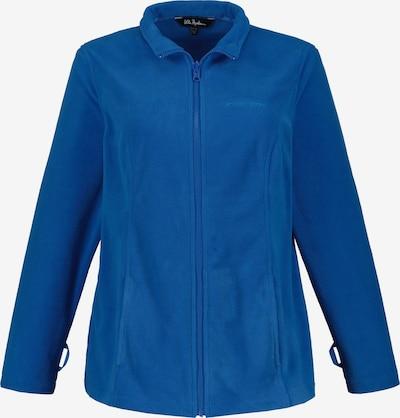 Ulla Popken Fleecejacke in blau, Produktansicht