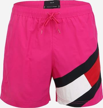 rozā Tommy Hilfiger Underwear Peldšorti