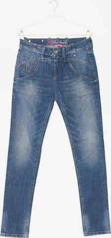 Fornarina Skinny-Jeans in 27 in Blau