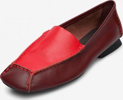CAMPER Mokassins ' Casi Myra ' in rot, Produktansicht